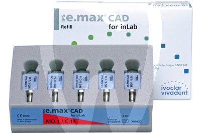 Product - IPS E.MAX® CAD CEREC/inLAB, HT I12/5