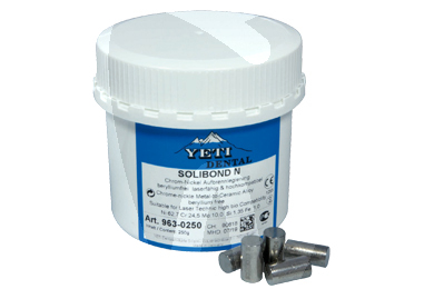 Product - SOLIBOND N NICKEL-CHROME ALLOY