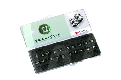 Product - SMARTCLIP SELF-LIGATING BRACKETS 1 CASE 5-5 UPPER AND LOWER MBT