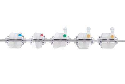 Product - CLARITY™ SL BRACKETS MBT™ 022-U/L LT/RT 5X5 CHK