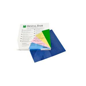 Product - KOFFERDAM MITTEL BLAU 15 X 15CM