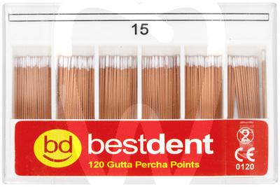 Product - ISO-GUTTAPERCHASPITZEN GRÖSSE 15–80 BESTDENT