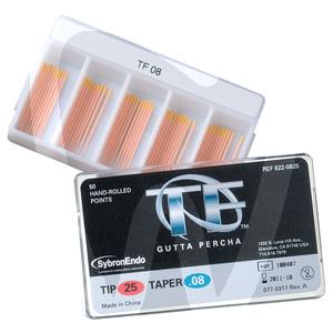 Product - TF-GUTTAPERCHA GRÖSSE 25 TAPER .04-.12