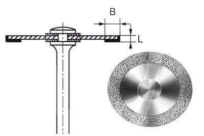 Product - HYPERFLEX DIAMANTSCHEIBE 911HH Ø 18 MM Stärke 0,1 MM Belegung 3 MM
