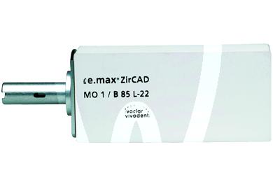 Product - IPS E.MAX ZIRCAD INLAB NACHFÜLLPACKUNGEN MO0 B55, 1 St.