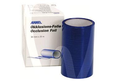 Product - OKKLUSIONFOLIE, EINSEITIG, BLAU, 22MM