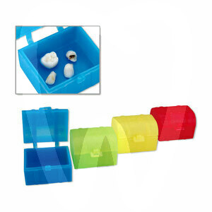 Product - PLASTIC TREASURE CHEST FOR TEETH
