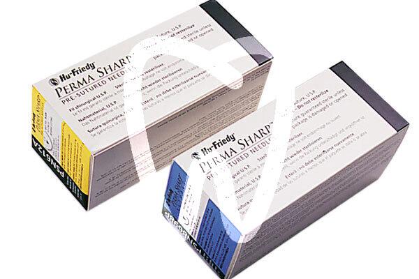 Product - SUTURE POLYESTHER VERT NON RESORBABLE 3/0 AIGUILLE 3/8C DE 19MM, 45CM.