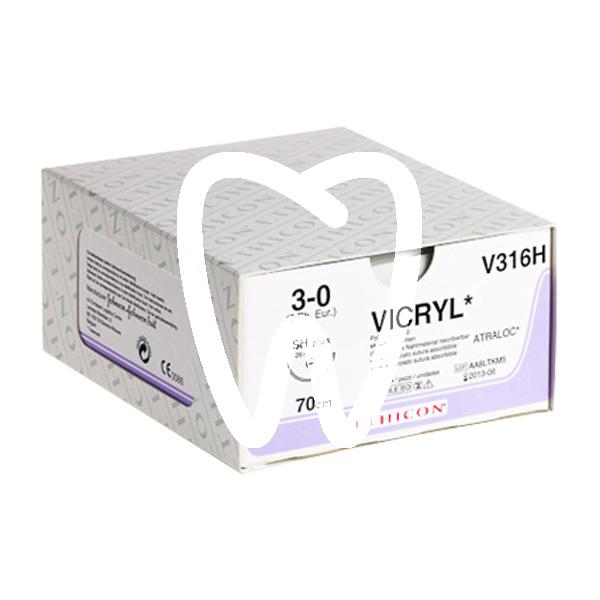 Product - SUTURES VICRYL 3/8C DE 19MM, 45CM.