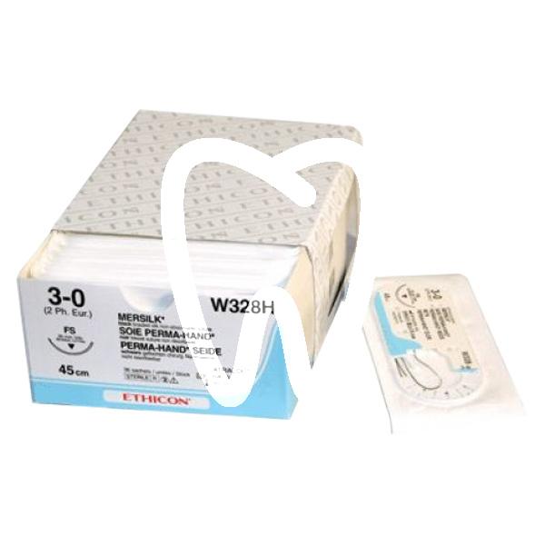 Product - SUTURE MERSILK W329H 4/0 FS-2 3/8C - 19MM, 45CM.