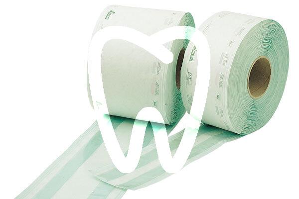 Product - GAINE DE STERILISATION AVEC SOUFFLET 25 X 6,5 CM