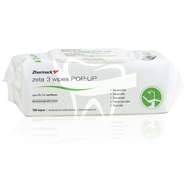 Product - LINGETTES ZETA 3 POP-UP EN 14476