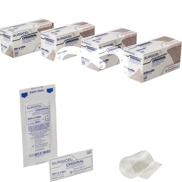 Product - SURGICEL HEMOSTAT 5x7,5 cm