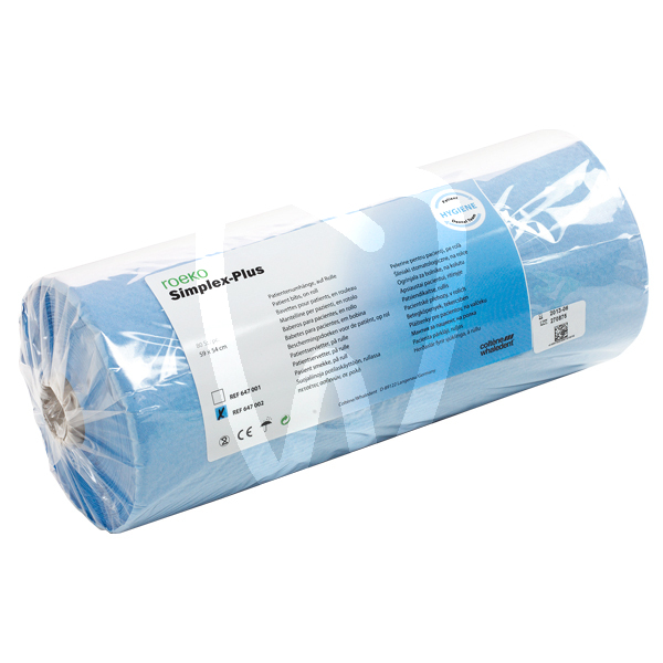 Product - SERVIETTES SIMPLEX-PLUS BLEU