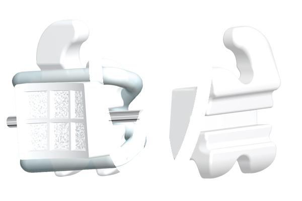 Product - Brackets esthétiques ROTH LOGIC LINE .022