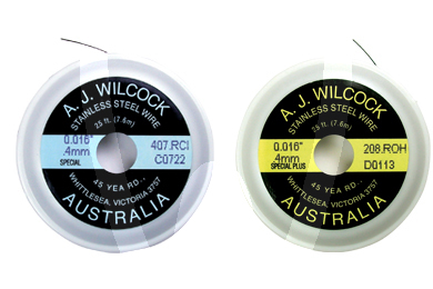 Product - BOBINES AUSTRALIAN WIRE SPECIALES JAUNES  .014