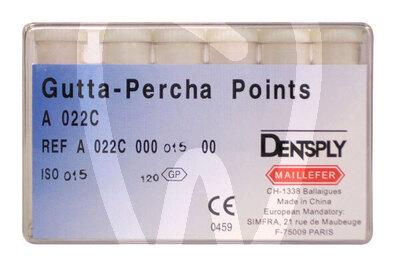 Product - POINTES DE GUTTAPERCHA Nº 10-120 MAILLEFER