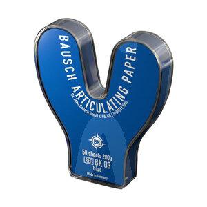 Product - PAPIER BK 03 BLEU FER À CHEVAL 200 MICRONS