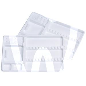 Product - PLATEAUX JETABLES EN PLASTIQUE GRANDS