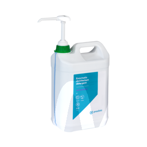 Product - DETERGENT DESINFECTANT ENZYMATIQUE 2% 5L + POMPE EN 14476