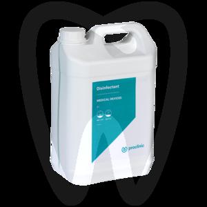 Product - DÉSINFECTANT DISPOSITIFS MÉDICAUX AVEC ALCOOL (5L.)