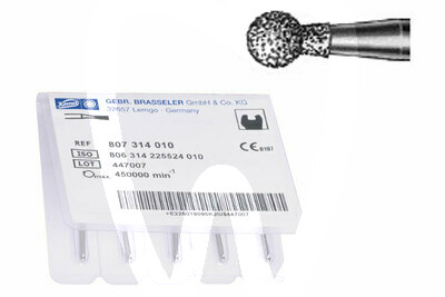 Product - FRAISE DIAMANT TURBINE MODELE 801L RONDE