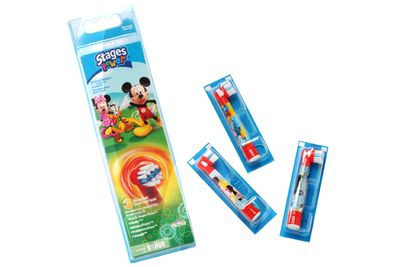 Product - TETE BROSSE A DENTS DISNEY GARCON RECHANGE EB10