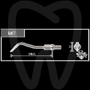 Product - INSERT Nº7 BESTDENT COMPATIBLE Nº7 KAVO POUR SONICFLEX