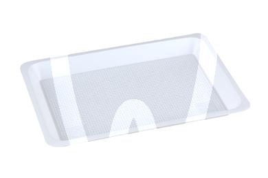 Product - PLATEAU JETABLE LISSE 21x10 cm