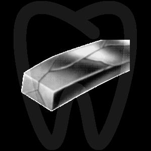 Product - ARC TRESSÉ 3 FILS OVOÏDE RECTANGULAIRE