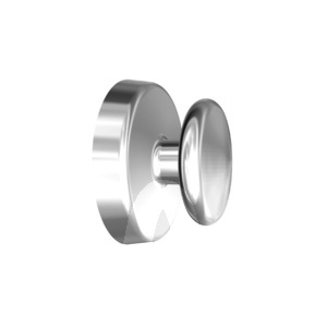 Product - BOUTON LINGUAL PLAT EXTREM. NO-NICKEL