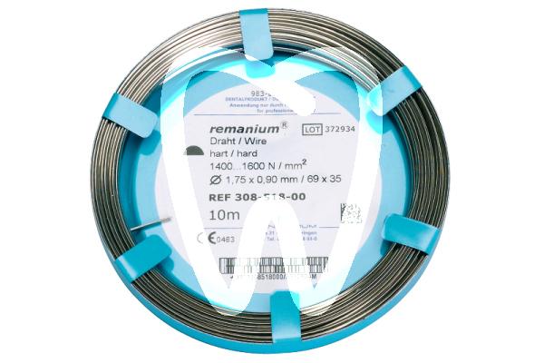Product - ROTOLO DI FILO A SEZIONE MEZZO-TONDA REMANIUM Ø 1,75 mm X 0,90 mm