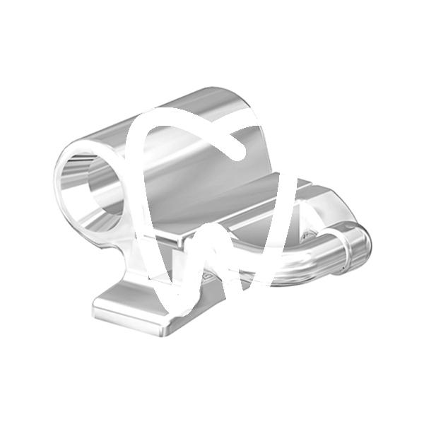 Product - TUBI ORALI PER SALDATURA A DOPPIE FASCE NON CONVERTIBILI CON TUBO TONDO .045 OCLUSIVO .018