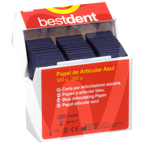 Product - CARTA DA ARTICOLAZIONE BESTDENT