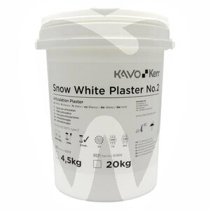 Product - GESSO SNOW WHITE PLASTER EXTRABIANCO TIPO II/2 - 4,5KG