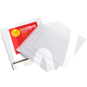 Product - PIASTRE CLEAR 1,5MM (25U.) BESTDENT
