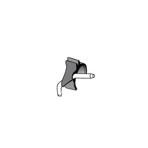 Product - CLIP NERO TUBO SPRAY