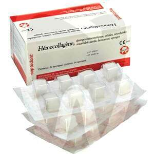 Product - HEMOCOLLAGENE