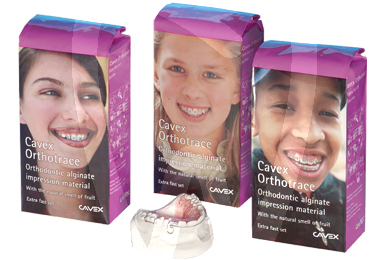 Product - ALGINATO ORTHOTRACE CAVEX