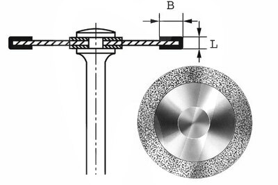 Product - DISCO HYPERFLEX DIAMANTE 911HEF Ø 18mm 0,10mm L. 3mm B