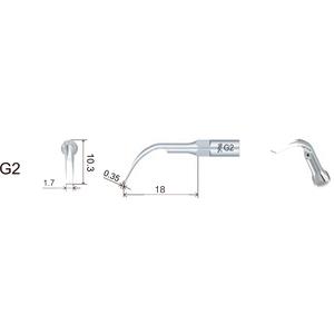 "Product - INSERTO WOODPECKER TIPO ""SIRONA"" ""GS2"